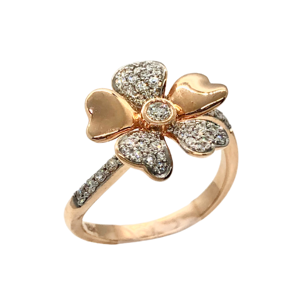 Allure Rose Gold Ring