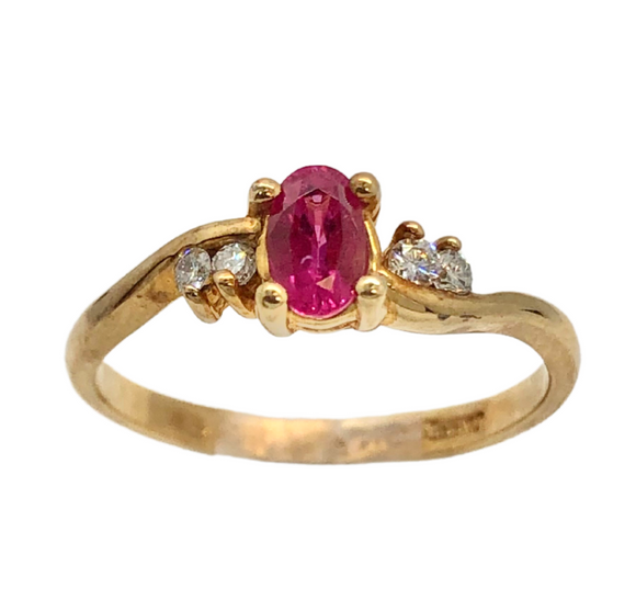 14k and Ruby Ring