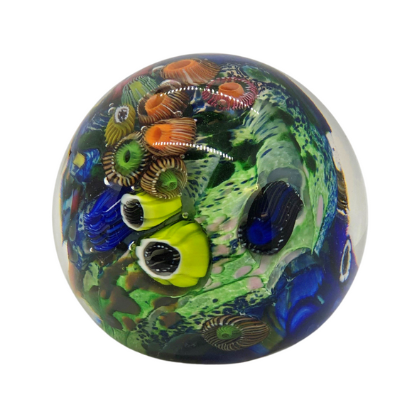 Murano Glass Abstract Paper Weight