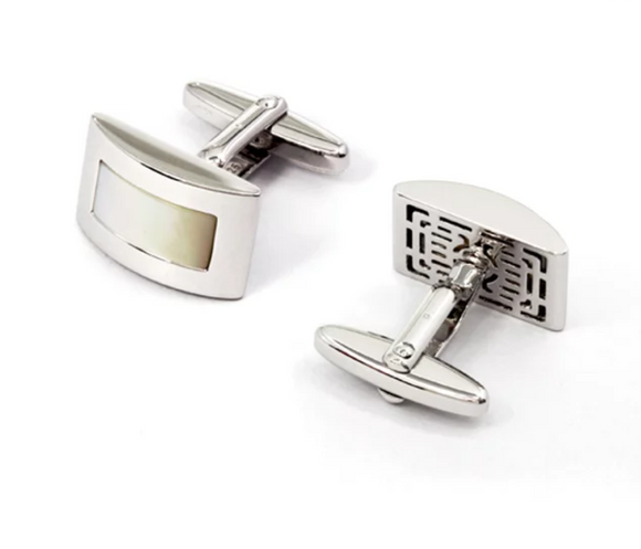 Breuning Mother of Pearl Cufflinks
