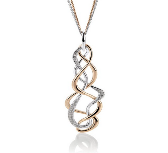 Breuning Fashion Twist Pendant