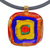 WASSILY #1 • gold-leaf murano glass necklace