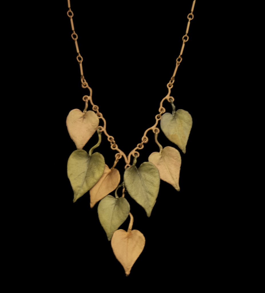 Sweet Potato Vine Necklace