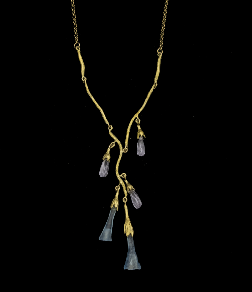 Virginia Bluebell Necklace