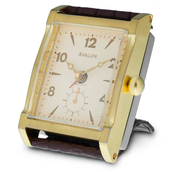 Pendulux Leather Strap Avalon Clock