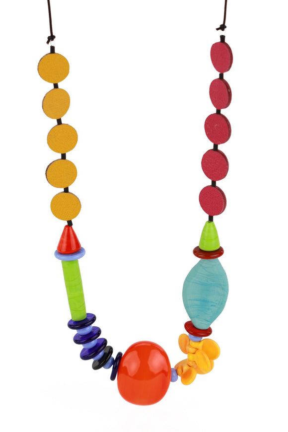 Multi-Colored Frolic Necklace