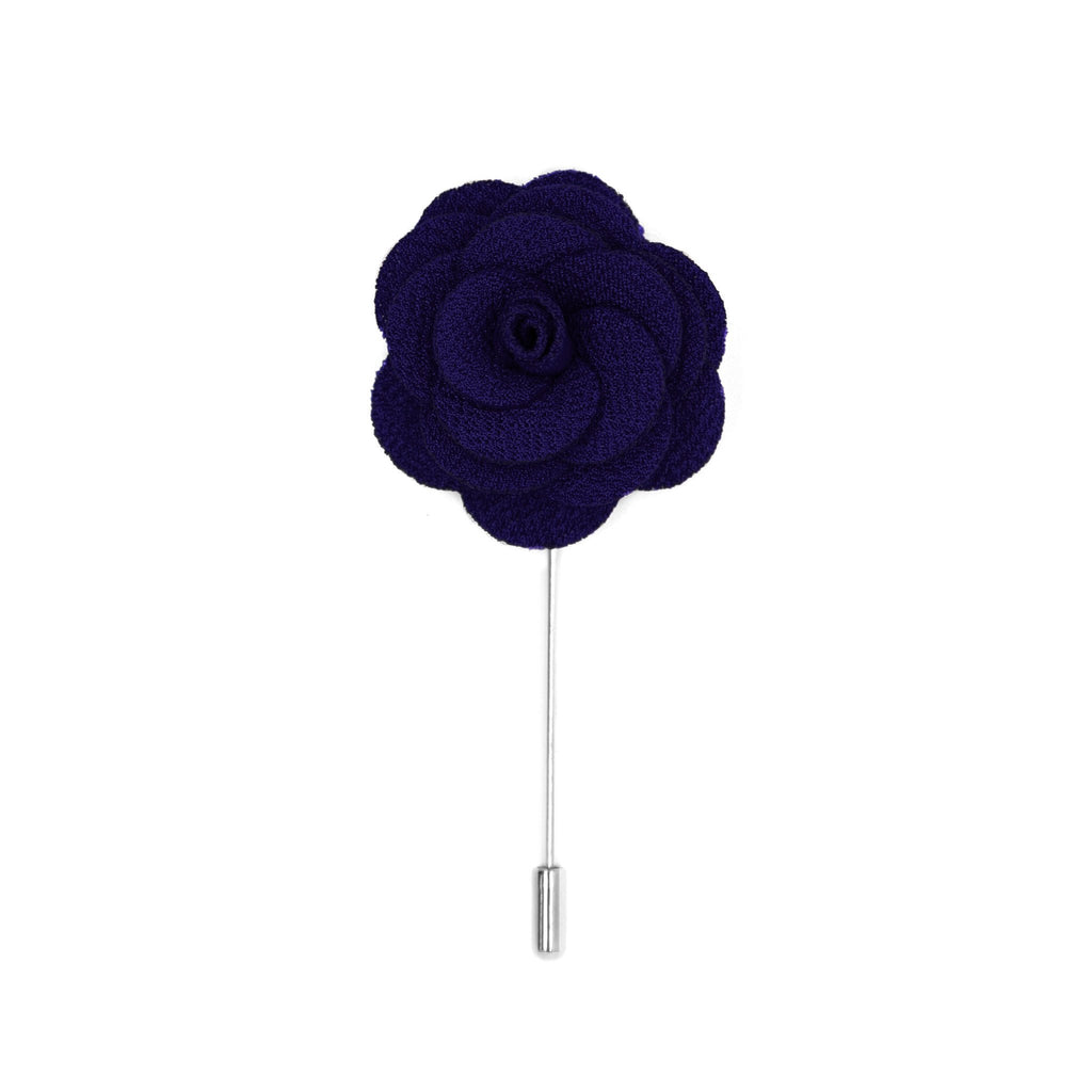 Clio 38 Dark Purple Lapel Pin - Giorgio's Menswear