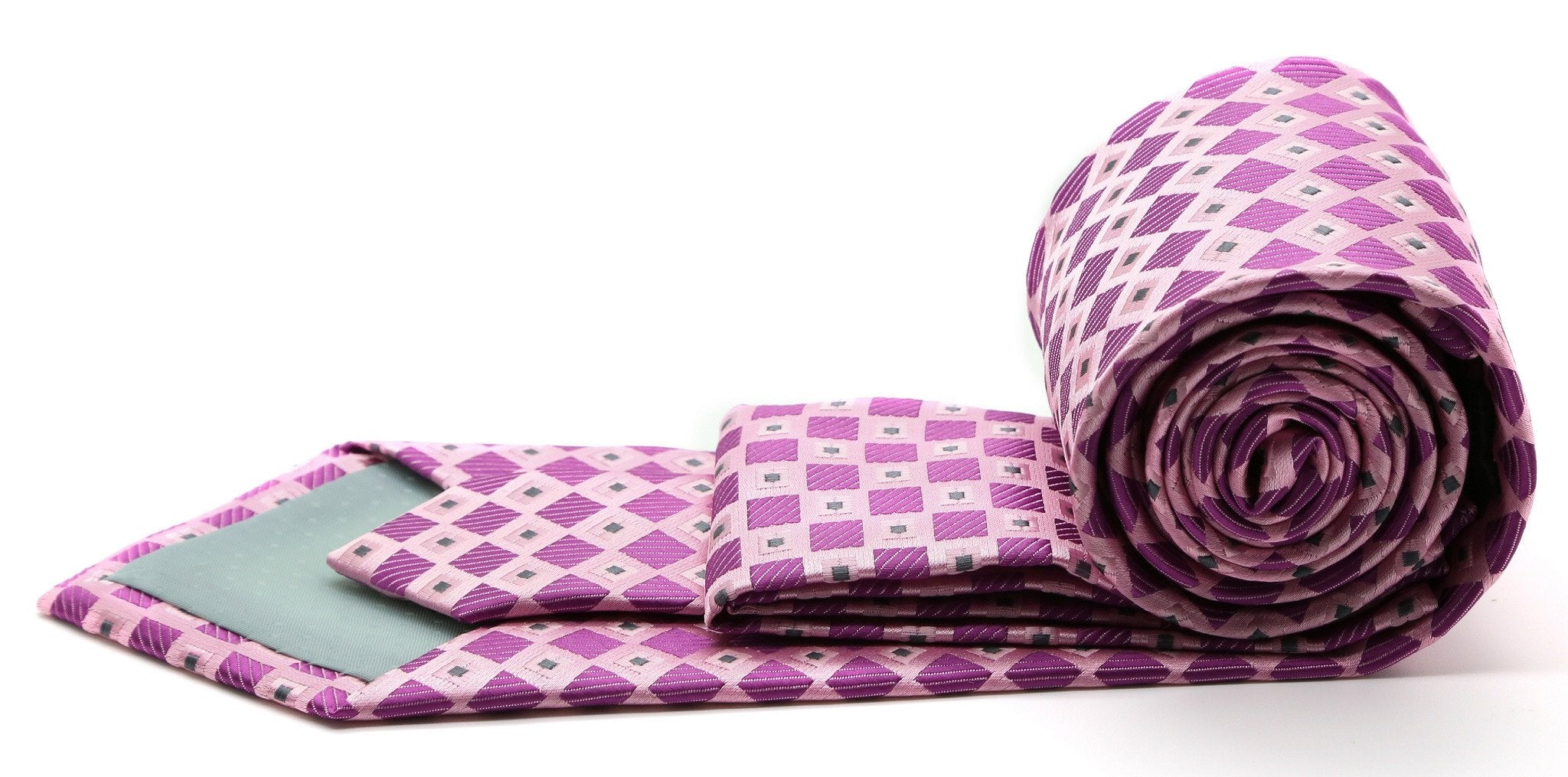 Premium Checkered Diamond Ties - Giorgio's Menswear