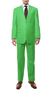 Premium FE28001 Lime Green Regular Fit Suit - Giorgio's Menswear