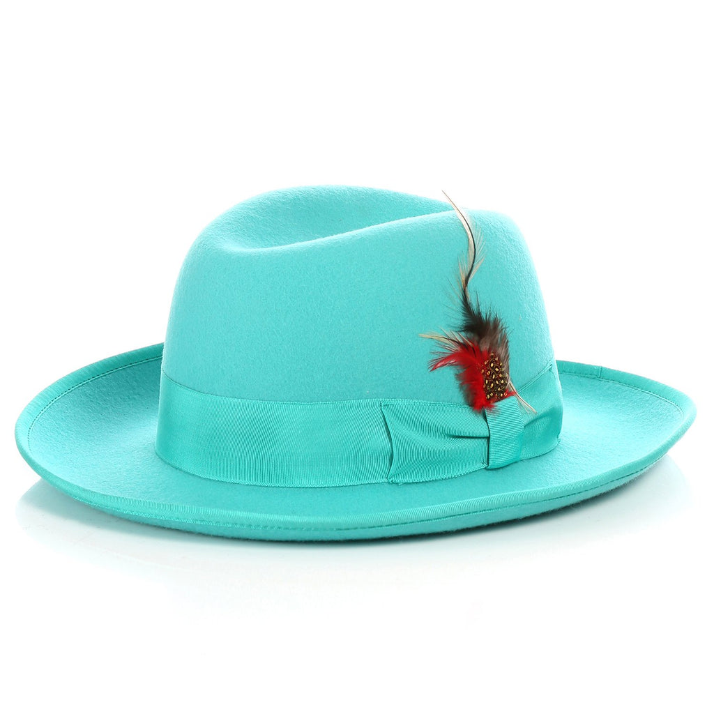 Ferrecci Premium Emerald Godfather Hat - Giorgio's Menswear