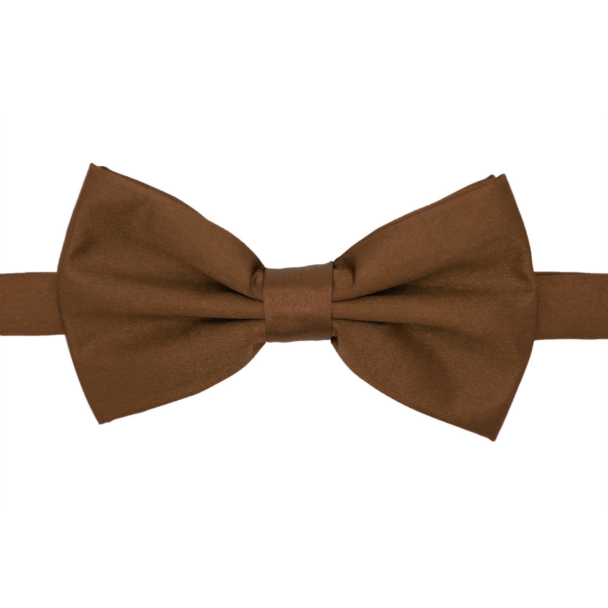Gia Brown Satine Adjustable Bowtie - Giorgio's Menswear
