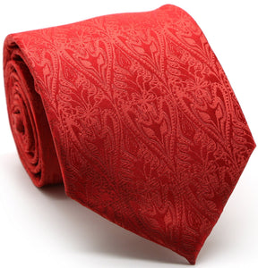 Premium Elegant Leaf Patterned Tied - Giorgio's Menswear
