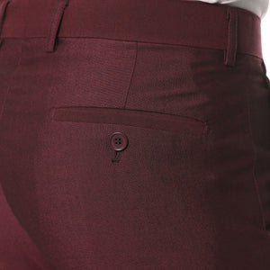 Hudson Burgundy Slim Fit 2pc Suit - Giorgio's Menswear