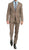 Mason Sand Men's Premium 2pc Premium Wool Slim Fit Suit - Ferrecci USA