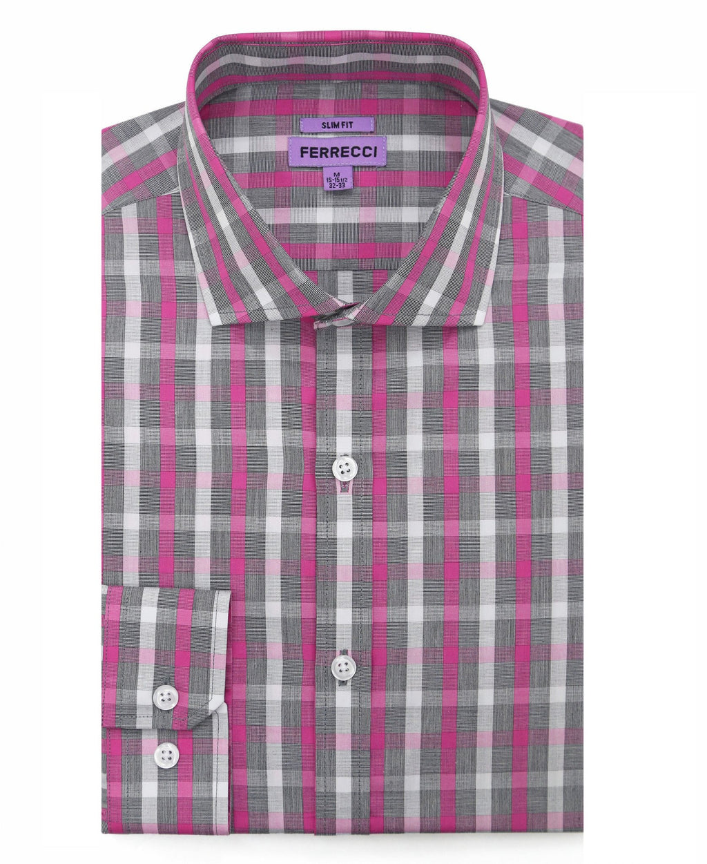 The Kenton Slim Fit Cotton Dress Shirt - Giorgio's Menswear