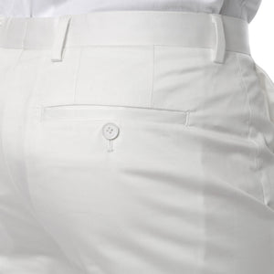 Zonettie Kilo Off White Straight Leg Chino Pants - Giorgio's Menswear