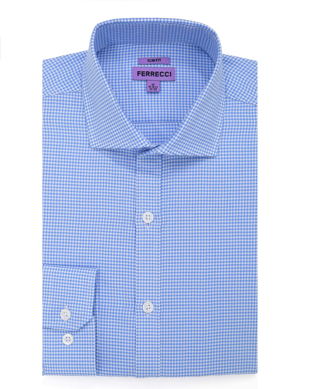 The Knox Slim Fit Cotton Dress Shirt - Giorgio's Menswear