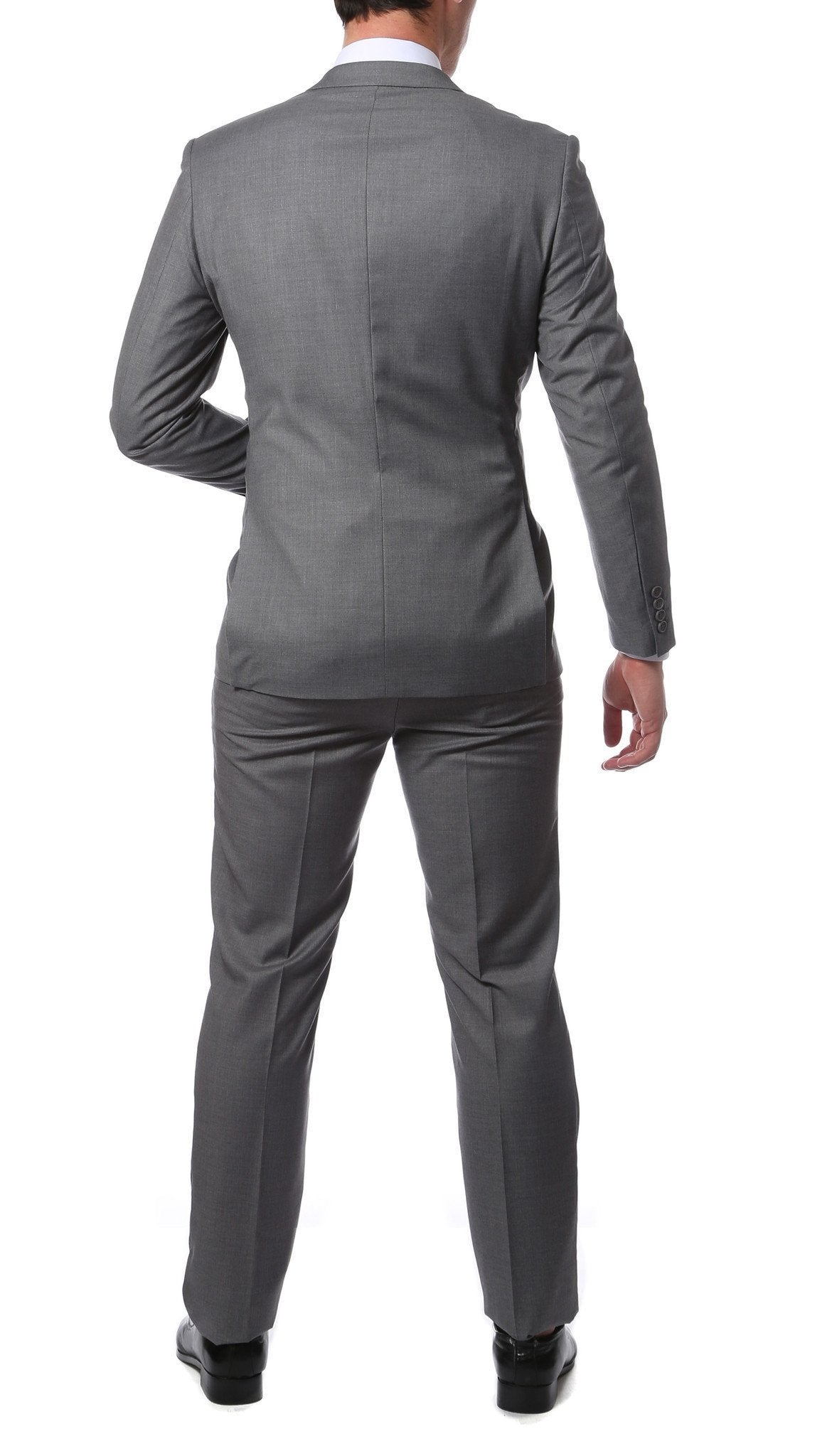 Etro Light Grey Slim Fit Modern Men's 2 pc Suit - Giorgio's Menswear
