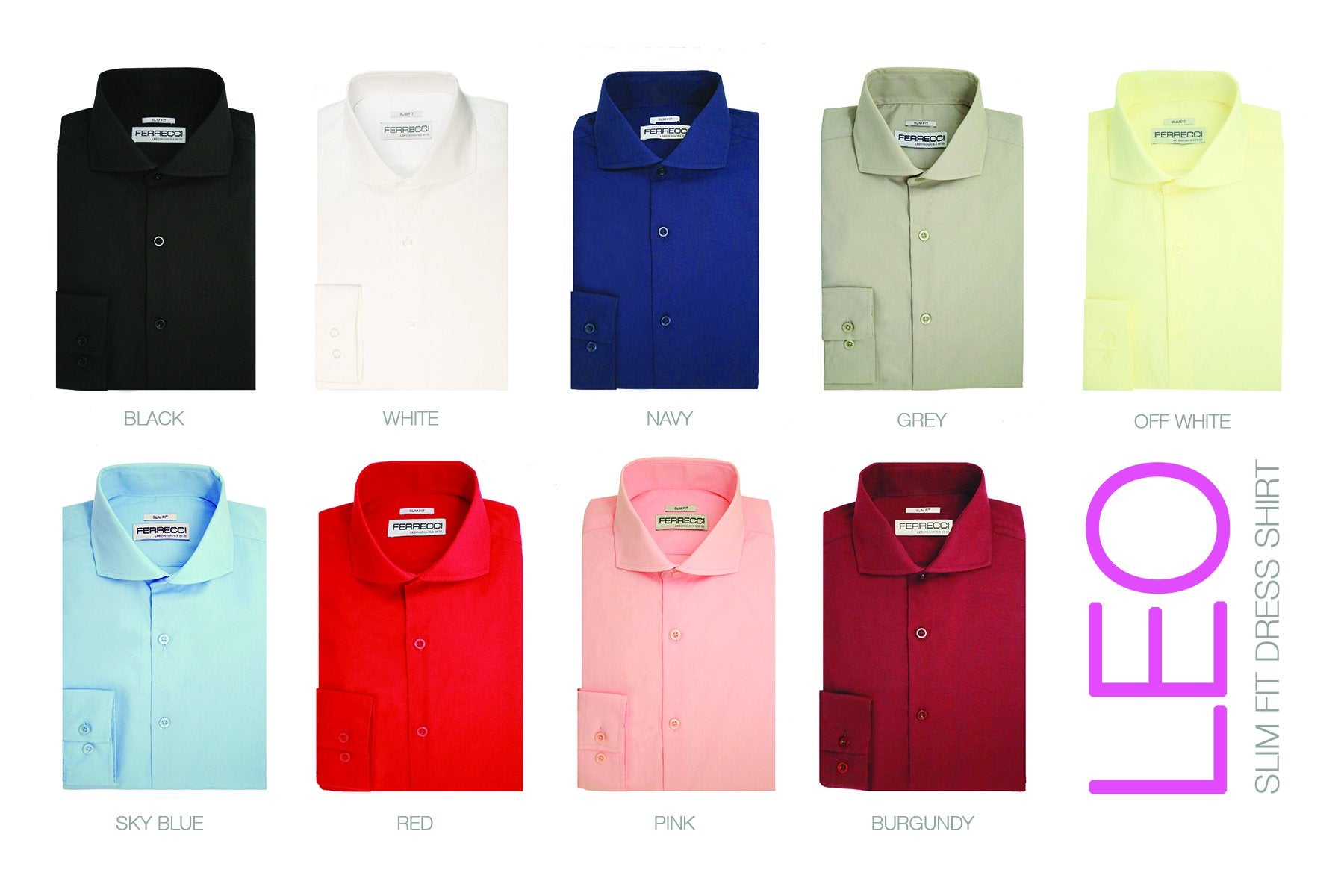 Get 5 Leo Shirts for only $99 - Giorgio's Menswear