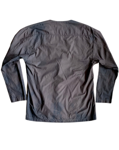 JACKET WITH SIDE TIE AND POCKETS