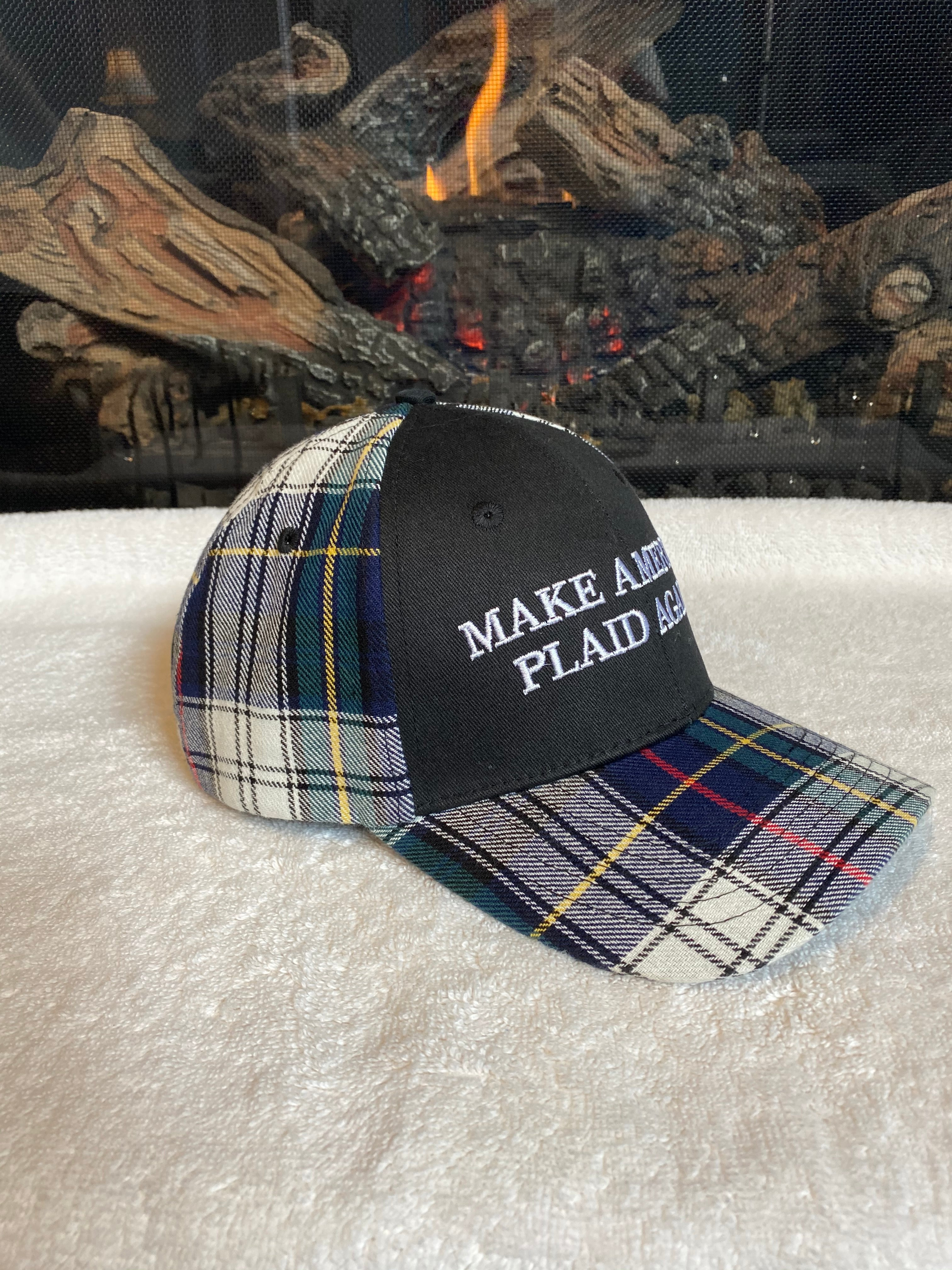 Make America Plaid Again Hat - Right Side