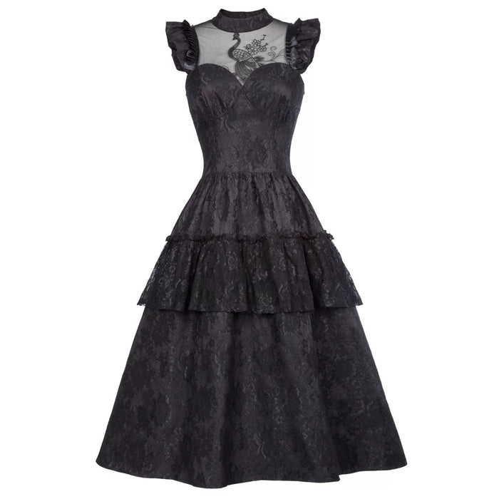 Darkness Glamour Dress (Black)
