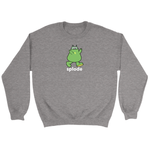 Cuddle with Splode Crewneck