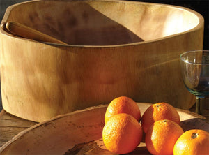 Load image into Gallery viewer, Mango Wood Bowl Extra Large
