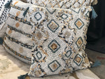 Embroidered Diamond Decorative Pillow