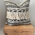 Kenya Pillow - Black and White
