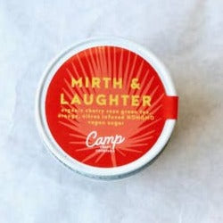Mirth and Laughter Infusion Kit containing organic cherry rose green tea, orange and citrus-infused vegan non-GMO cane sugar.  Cocktail making set,  Cocktail Mixers, Cocktail Kits, Host Gift, Teacher Appreciation Gift, Graduation Gift. DIY Cocktail, Vodka Recipe