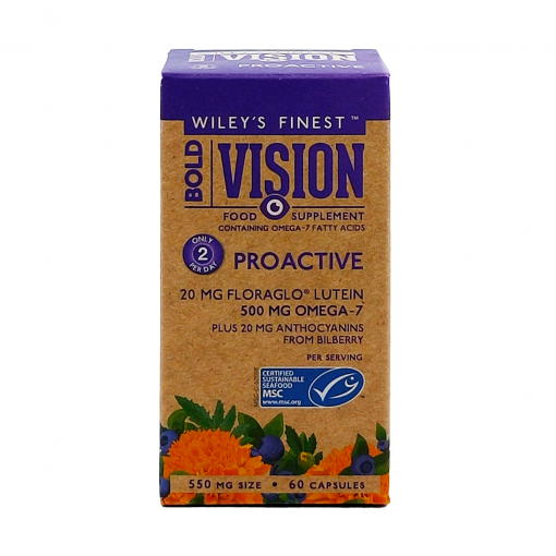 Wiley's Bold Vision- 60 Capsules