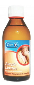 Care Simple Linctus - 200ml Cough Medecine