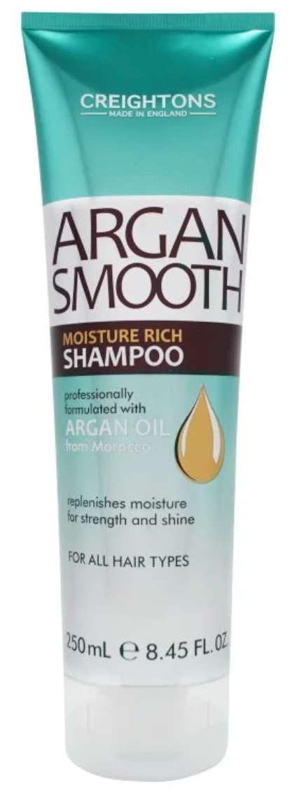 Creightons Argan Smooth Deep Moisture Shampoo 250ml
