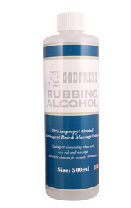 Godfreys Rubbing Alcohol 500ml