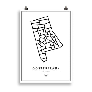 Oosterflank, Rotterdam  - Poster