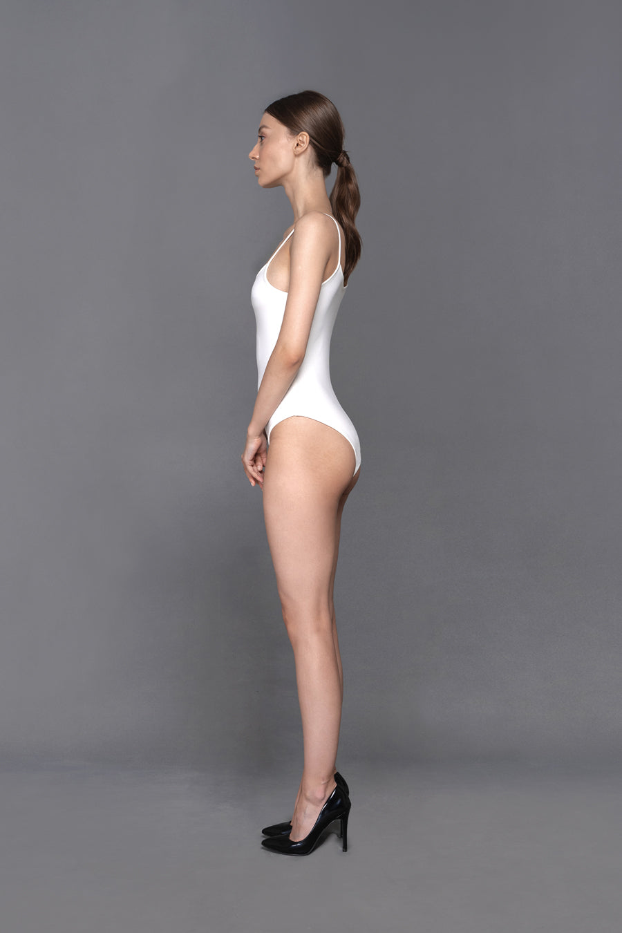 Anne - White Body Suit