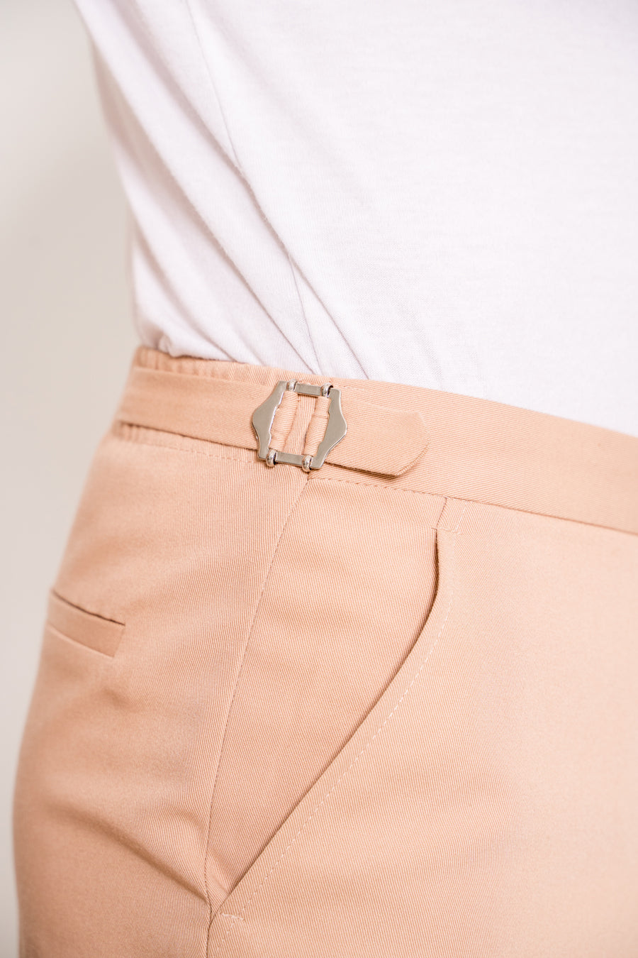 Stephen Stone Colour Skinny Fit Chinos - with side adjusters