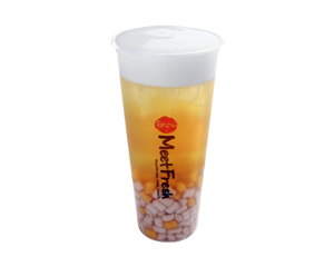 WINTER MELON TEA WITH MINI TARO BALL & WHIPPED CREAM