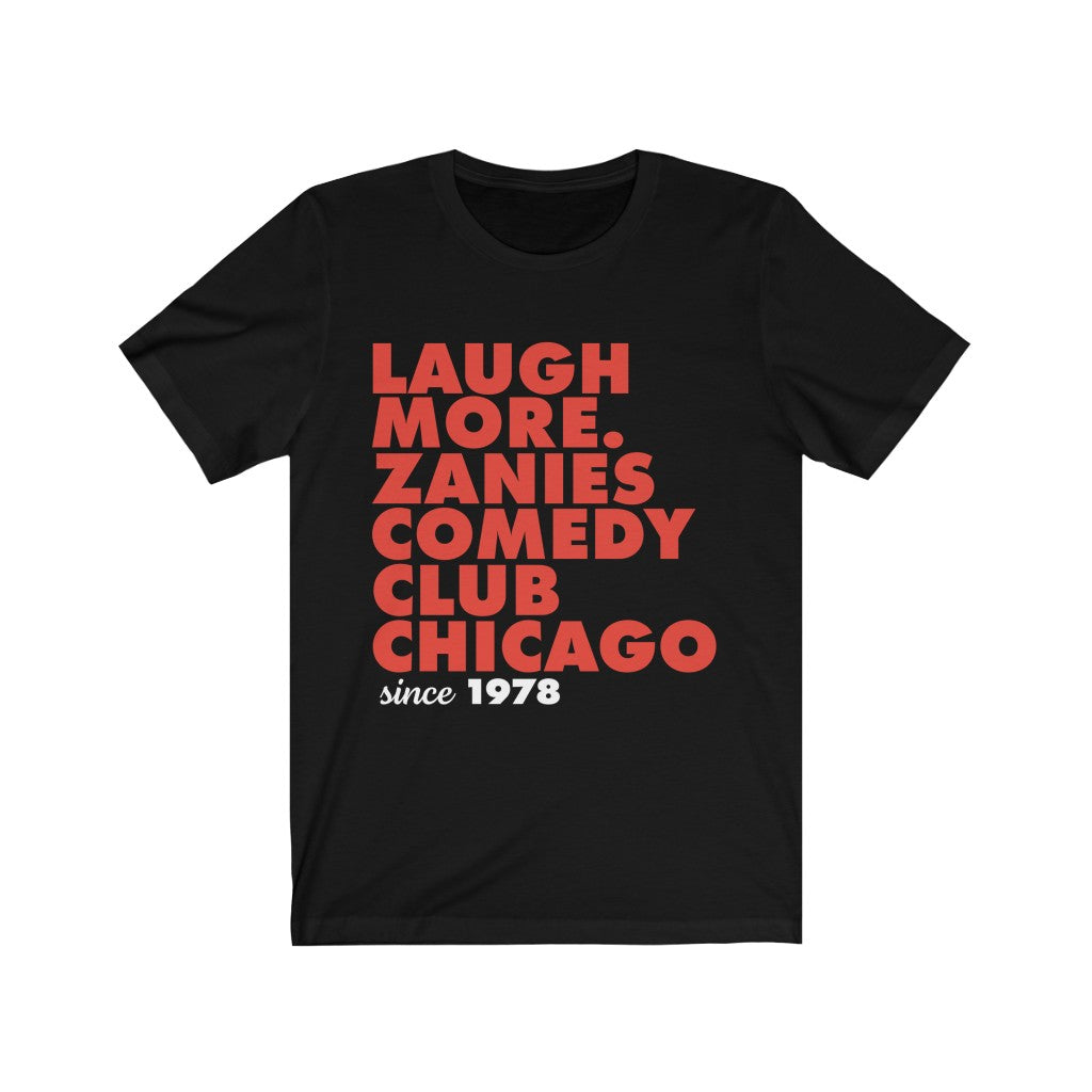 Laugh More Short Sleeve Tee