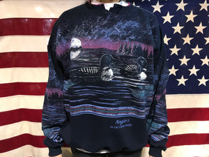 Ducks Animal Print 90's Vintage Sweat by Art Unlimited Sportswear USA