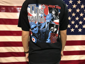 The Who USA Tour 2008 Original Vintage Rock T-Shirt by Anvil