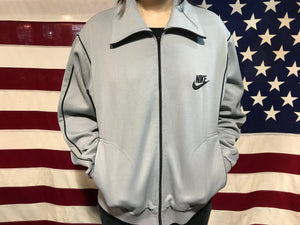 Nike Sportswear 80's Vintage Zip Up Mens Nylon Track Jacket