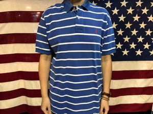Polo by Ralph Lauren Vintage 90's Stripe Mens Polo