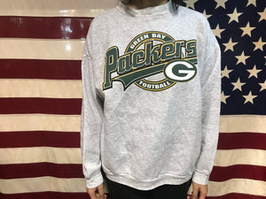 Green Bay Packers NFL Football 90's Vintage Crew Sporting Sweat by Logo7 Made in USA