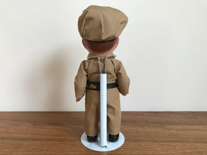 "Phillips 66 "" Lil Phil "" 90's Station Attendant Rare Collector Doll Phil - No 1 Series by Ames Doll Co , Inc USA"
