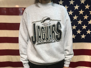Jacksonville Jaguars NFL 90's Vintage Crew Sporting Sweat by Fruit of The Loom Made in USA