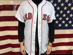 Red Sox 90's Vintage Baseball Jersey by Majestic Made in USA