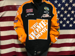 Nascar Chase Authentics by JH Designs Vintage Tony Stewart & The Home Depot Racing Mens Jacket