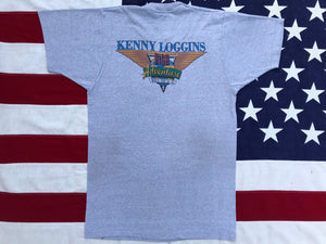 Kenny Loggins Summer World Tour '82-'83 High Adventure Original Vintage Rock T-Shirt by Screen Stars Made in USA